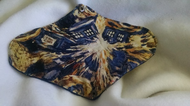 Finished Dr Who pad!